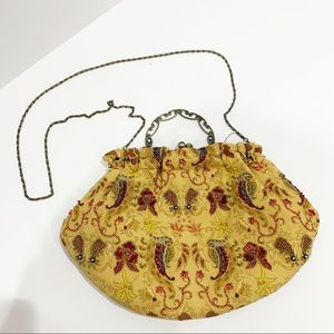 Braciano Beaded embroidered vintage inspired bag